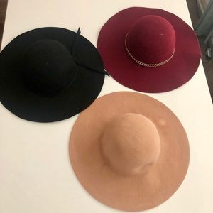 3 FOR $20 Floppy hat BUNDLE